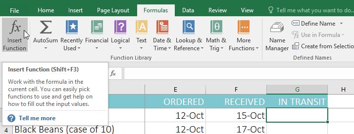 16 . توابع (Functions) اکسل 2016 . آموزشگاه رایگان خوش آموز