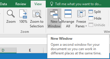 18. منجمد کردن پنجره ها و گزینه های نمایش در اکسل 2016 . آموزشگاه رایگان خوش آموز