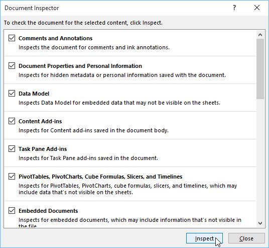 26. بازرسی و محافظت کردن از فایل های اکسل 2016 . آموزشگاه رایگان خوش آموز