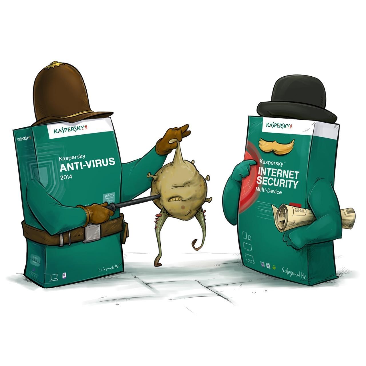 بررسی تفاوت بین  Antivirus و Internet Security . آموزشگاه رایگان خوش آموز