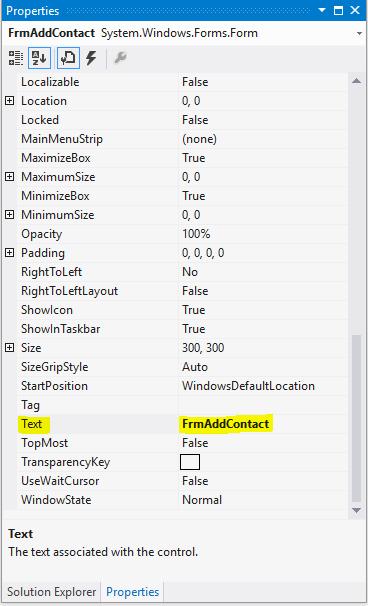 9. آموزش برنامه نویسی به زبان ساده . طراحی فرم ثبت اطلاعات!