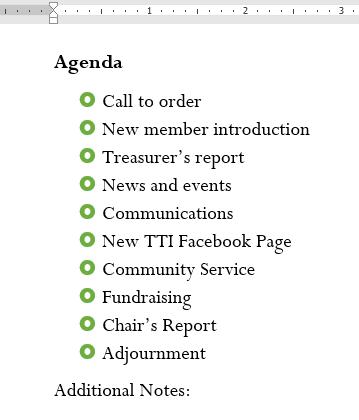 10. لیست ها (Lists) در ورد 2016