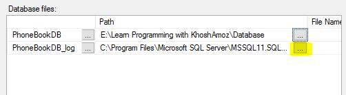 4. آموزش SQL Server به زبان ساده. ایجاد فایل پایگاه داده (Database)
