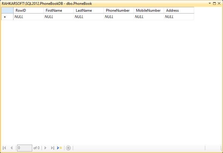 6. آموزش SQL Server به زبان ساده. افزودن رکوردهای اطلاعاتی به جدول
