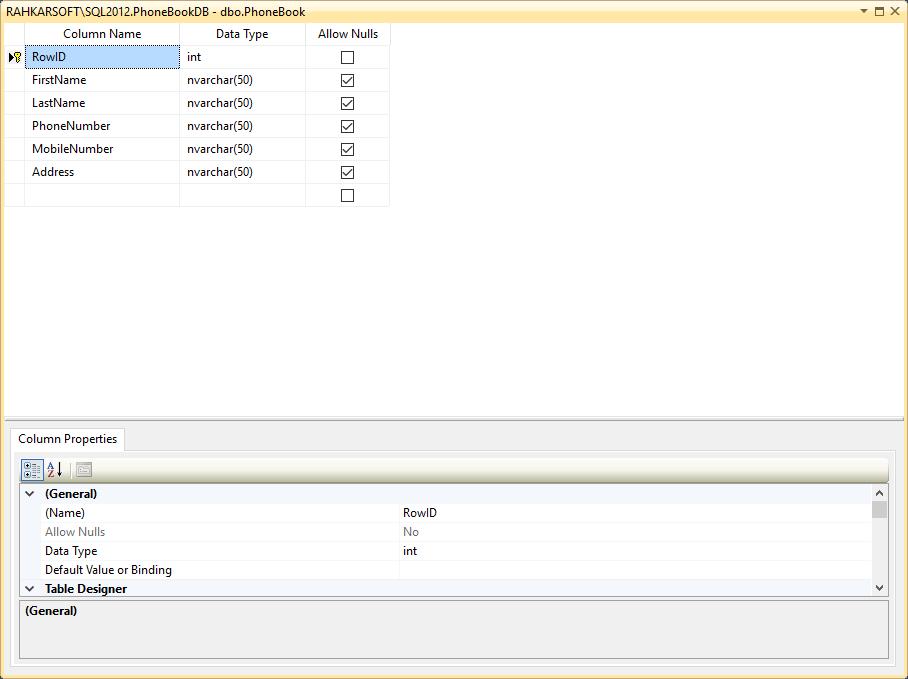 7. آموزش SQL Server به زبان ساده. ویرایش ساختار جداول اس کیو ال سرور