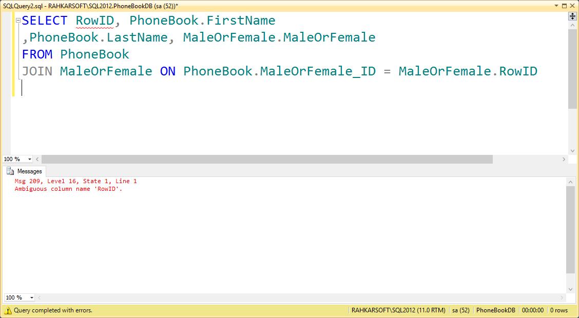 18. آموزش SQL Server به زبان ساده. نحوه بازیابی اطلاعات از جداول مرتبط با یکدیگر