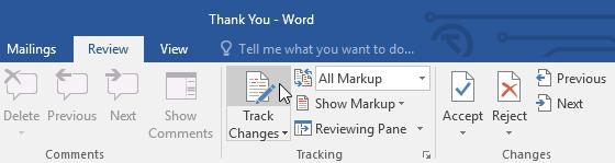26. ردیابی تغییرات (Track Changes) و ثبت توضیحات (Comments) در ورد 2016