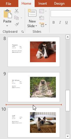 5. مبانی اسلایدها (Slide) در پاور پوینت 2016