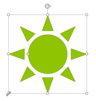 17. شکل ها (Shapes) در پاور پوینت 2016