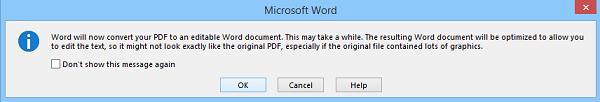 نحوه ویرایش فایلهای PDF در Word . آموزشگاه رایگان خوش آموز