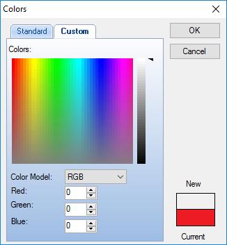 چاپ چک : خصوصیات اشیاء در الگوی چاپ چک
