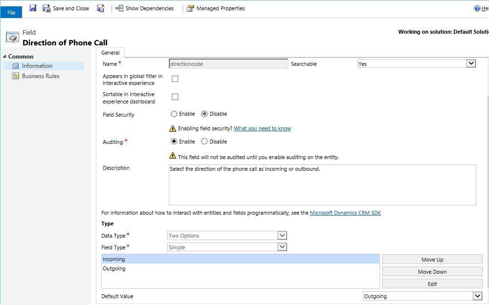 آموزش مایکروسافت CRM 2016 - بخش سفارشی سازی فرمها - قسمت هفتم . آموزشگاه رایگان خوش آموز