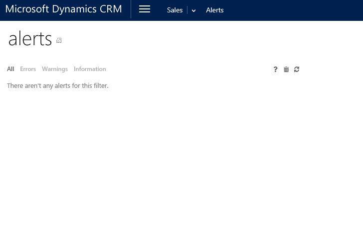 آموزش مایکروسافت CRM 2016 - آشنایی با فرم Alerts . آموزشگاه رایگان خوش آموز