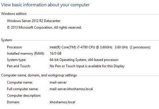 آموزش مایکروسافت exchange server 2016 - فراهم کردن پیشنیازهای نصب . آموزشگاه رایگان خوش آموز