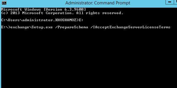 آموزش مایکروسافت exchange server 2016 - آماده سازی اکتیودایرکتوری و دامین . آموزشگاه رایگان خوش آموز