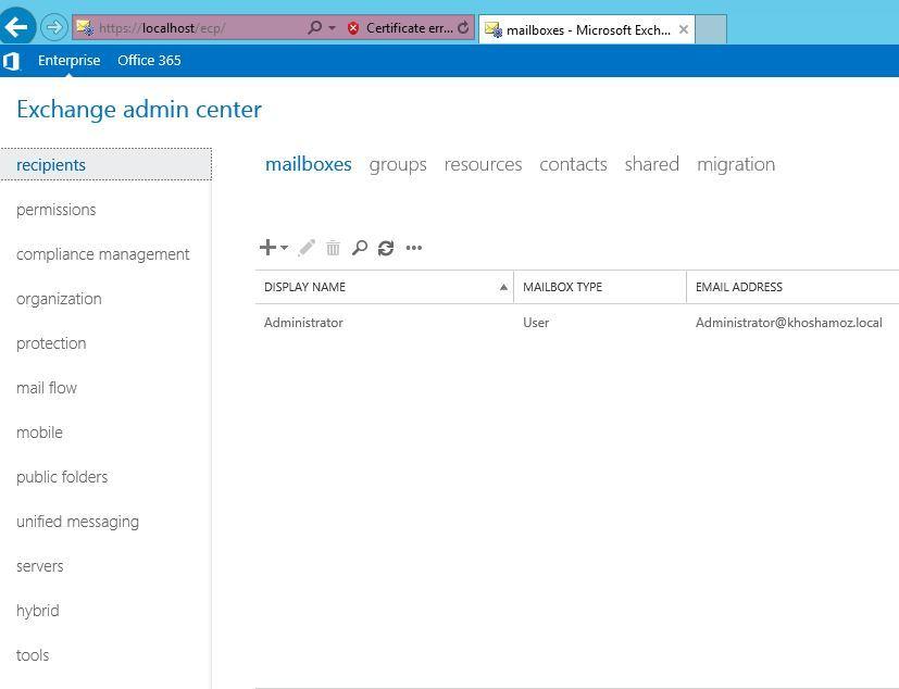 آموزش مایکروسافت exchange server 2016 - فعال سازی برنامه . آموزشگاه رایگان خوش آموز