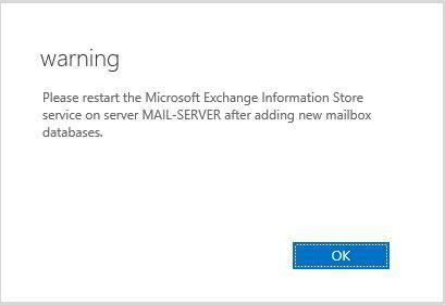 آموزش مایکروسافت exchange server 2016 - ایجاد دیتابیس ها . آموزشگاه رایگان خوش آموز