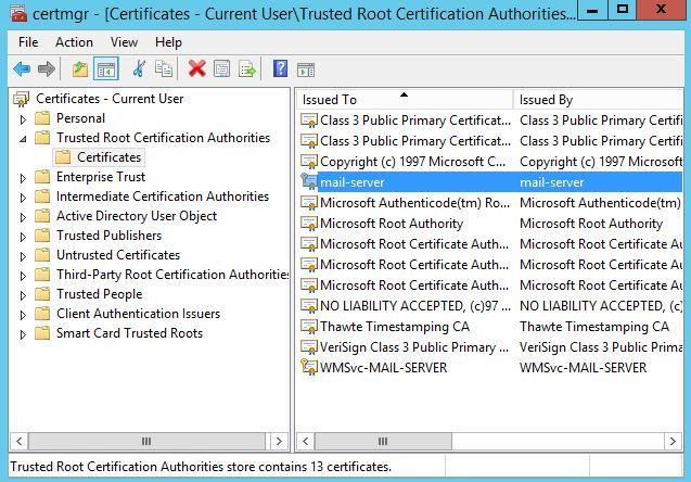 آموزش مایکروسافت exchange server 2016 - بحث Deploy کردن Certificate برای کلاینتها . آموزشگاه رایگان خوش آموز