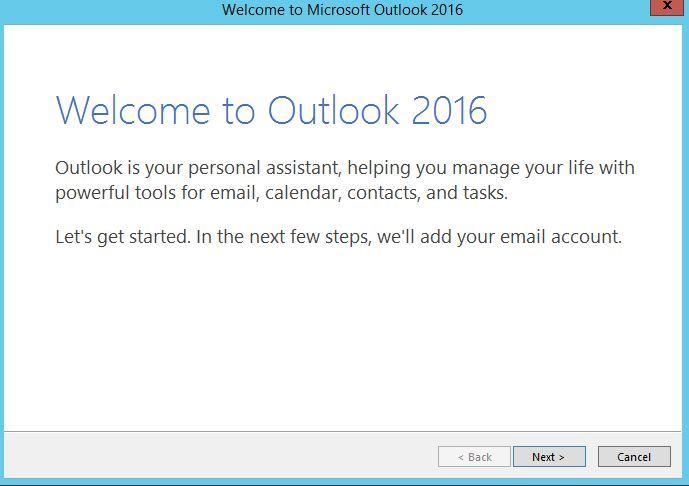 آموزش مایکروسافت exchange server 2016 - ارتباط Outlook با Exchange توسط پروتکل POP3 . آموزشگاه رایگان خوش آموز