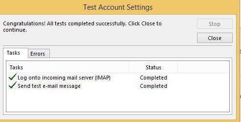 آموزش مایکروسافت exchange server 2016 - ارتباط Outlook با Exchange توسط پروتکل IMAP . آموزشگاه رایگان خوش آموز