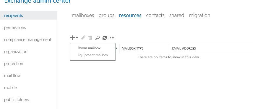 آموزش مایکروسافت exchange server 2016 - ایجاد room mailbox . آموزشگاه رایگان خوش آموز