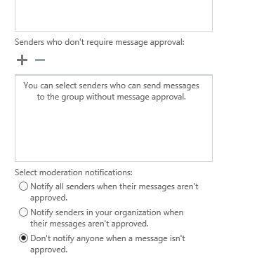 آموزش مایکروسافت exchange server 2016 - مدیریت message approval در Groups ها . آموزشگاه رایگان خوش آموز