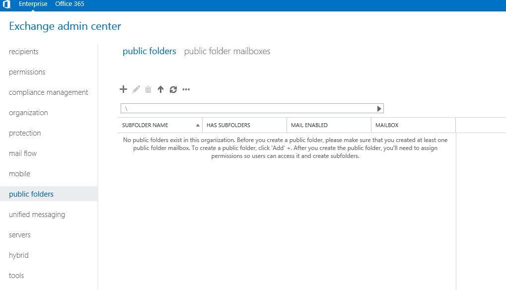 آموزش مایکروسافت exchange server 2016 - بخش Public folder - ایجاد public folder . آموزشگاه رایگان خوش آموز