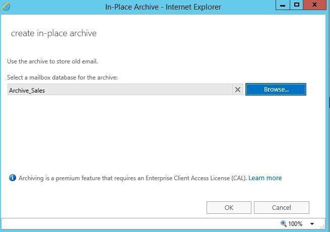 آموزش مایکروسافت exchange server 2016 - بخش Archive ایمیل ها - قسمت چهارم . آموزشگاه رایگان خوش آموز