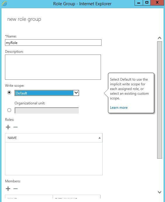 آموزش مایکروسافت exchange server 2016 - سطوح دسترسی و permission ها . آموزشگاه رایگان خوش آموز