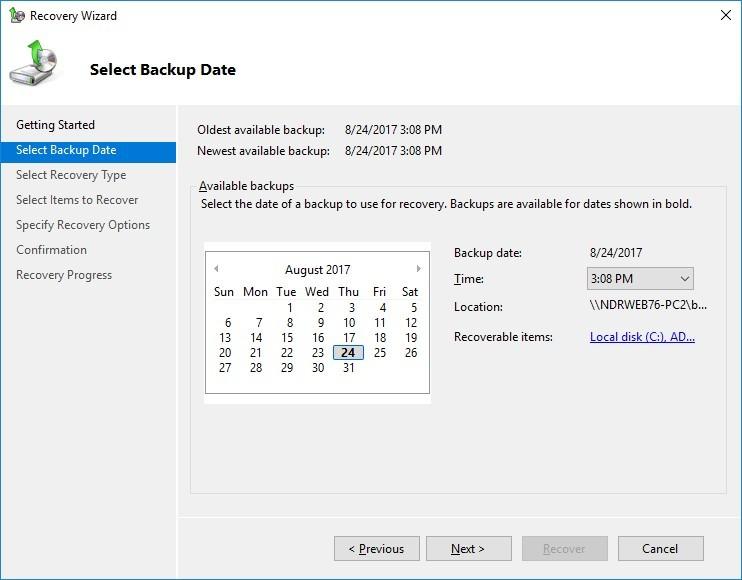 آموزش مایکروسافت exchange server 2016 - ریستور کردن بک آپ . آموزشگاه رایگان خوش آموز