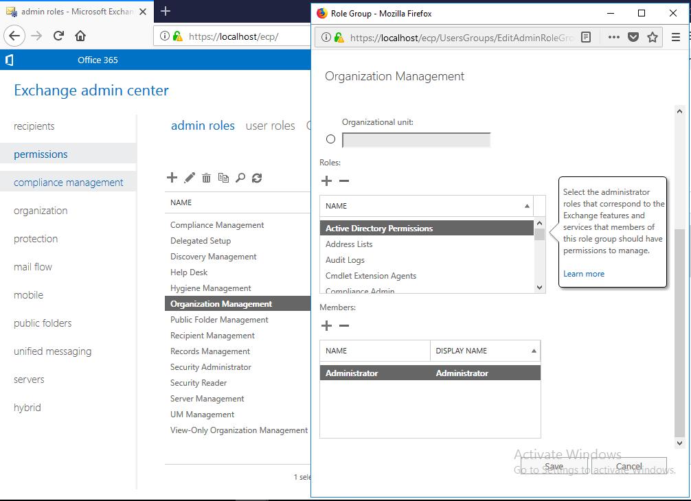 آموزش مایکروسافت exchange server 2016 - ریست پسورد کاربران از کنسول Exchange server . آموزشگاه رایگان خوش آموز
