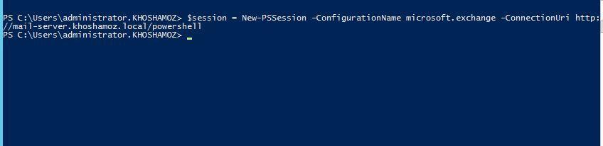 آموزش مایکروسافت exchange server 2016 - مدیریت Exchange server با PowerShell . آموزشگاه رایگان خوش آموز