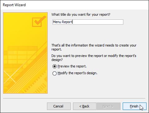 12. گزینه های پیشرفته گزارش (Advanced Report Options)