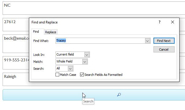 15. قالب بندی فرمها (Formatting Forms) در اکسس 2016
