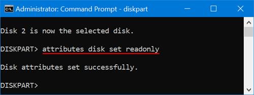تنظیم دیسک یا Volume در حالت Read-Only . آموزشگاه رایگان خوش آموز