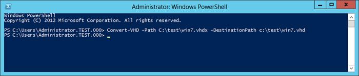 نحوه تبدیل Hyper-V VHDX به VHD و بالعکس . آموزشگاه رایگان خوش آموز