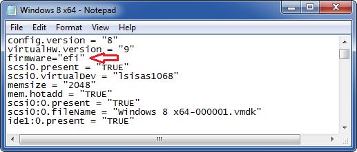 استفاده از UEFI به جای BIOS هنگام نصب ویندوز در VMware Workstation . آموزشگاه رایگان خوش آموز