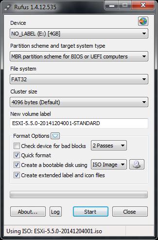 ساخت فلش Bootable برای نصب ESXI . آموزشگاه رایگان خوش آموز