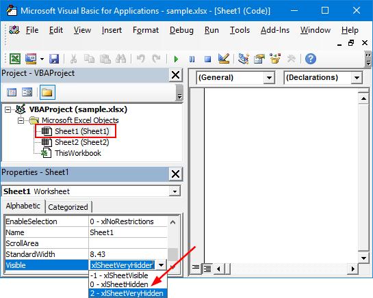 نمایش یا مخفی کردن Worksheet در Excel . آموزشگاه رایگان خوش آموز