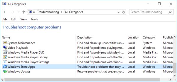 پاک شدن Windows Store در ویندوز . آموزشگاه رایگان خوش آموز