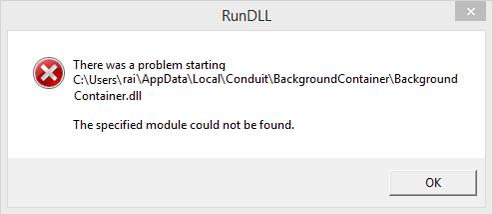 برطرف کردن ارور The specified module could not be found . آموزشگاه رایگان خوش آموز