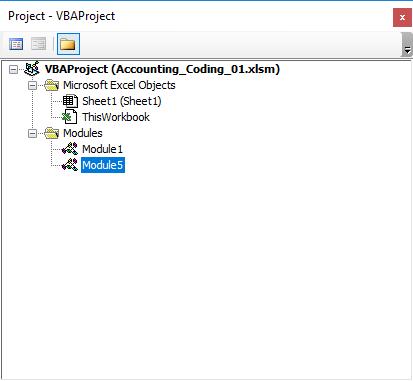 آموزش برنامه نویسی اکسل : درک محیط VBE