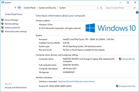 چه نسخه ای از ویندوز را نصب کرده ام؟