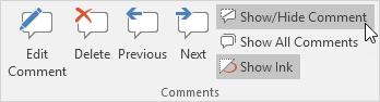 چگونگی ایجاد comment (توضیحات) در اکسل