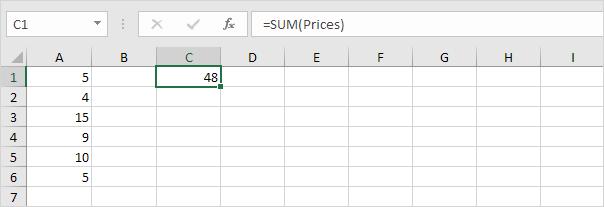 چگونگی معرفی و استفاده از Dynamic Named Range در اکسل