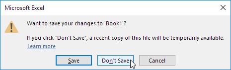 چگونگی کار با ویژگی بازیابی اتوماتیک (AutoRecover) فایل های ذخیره نشده در اکسل