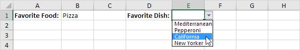 آشنایی با لیست های باز شدنی وابسته (Dependent Drop-down Lists) و کاربرد آن در اکسل