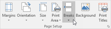 آشنایی با  Page Breaks (محل شکستن صفحه) و کاربرد آن در اکسل