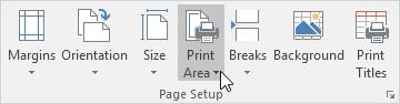 آشنایی با Print Area (ناحیه چاپ) و کاربرد آن در اکسل