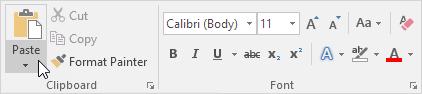 چگونگی کار با ویژگی Embed (جاسازی کردن) در اکسل